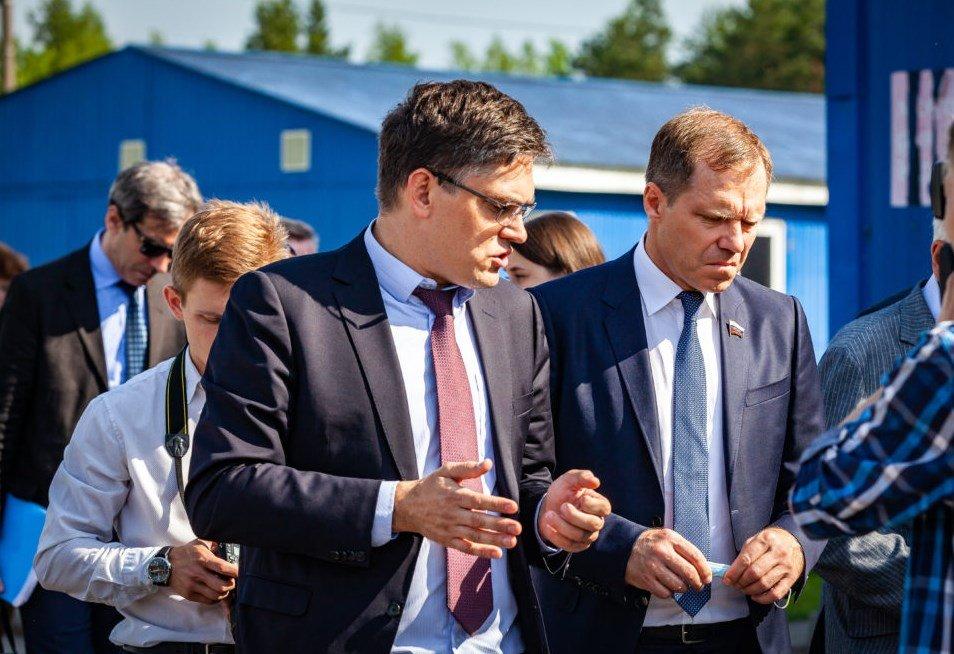 Временная комиссия Совета Федерации побывала на перерабатывающем предприятии ОАО «Чистая планета»