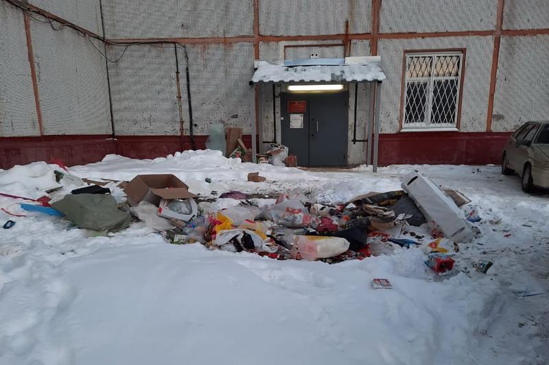 Бункера нет, а мусор есть…