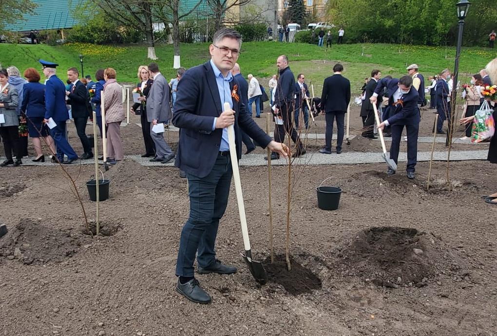 Здесь будет город-сад!